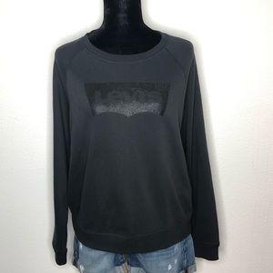 Levi's logo sweatshirt XL